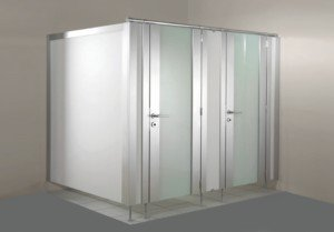 CombiLine WC Trennwand